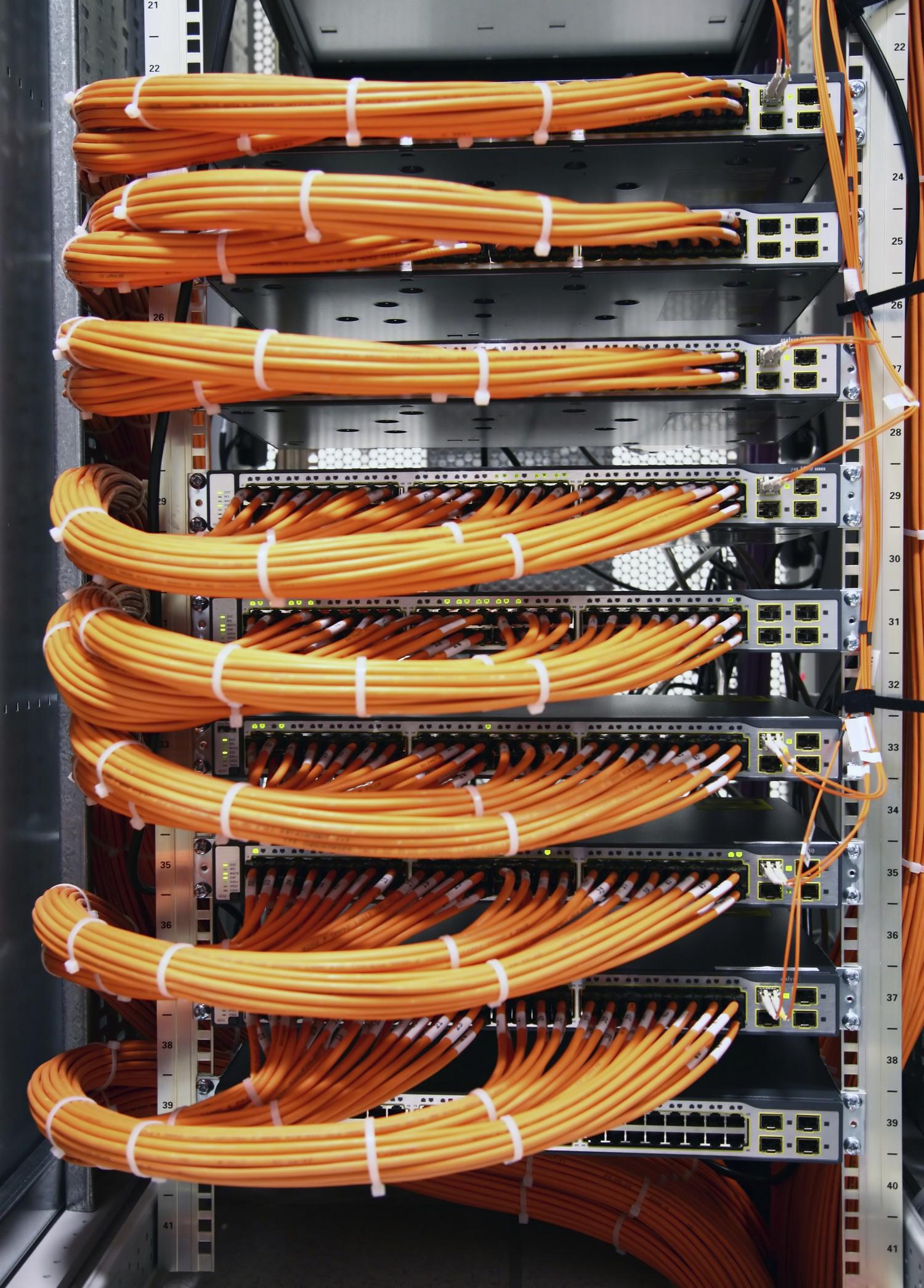 εγκατασταση δομημενης καλωδιωσης