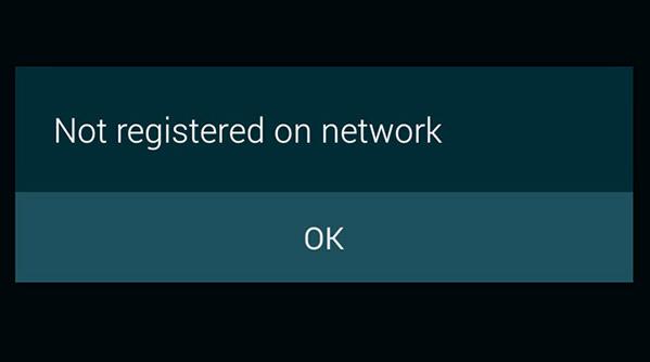 μη εγγεγραμμένο στο δικτυο iphone